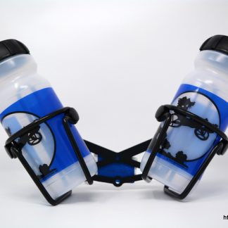 Two, water bottle holders and water bottle set for your HP Velotechnik bike or trike