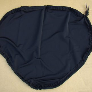 Black, spandex cover to keep recumbent seat clean