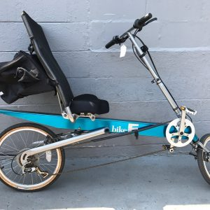 Bike E Blue