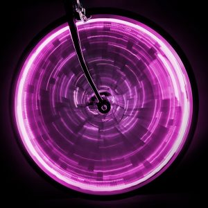 Sunlite Light Wheel Glow F/One-Wheel Pink