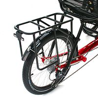 A black alloy rack