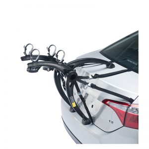 Saris Car Rack 805 Bones 2-Bike Trunk Grey