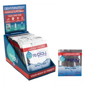 Food Hydration Health Mix Replay Packets Box of 25