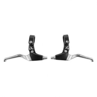 Sunlite Brake Lever Bmx T-7 Black And Silver Pair Locking