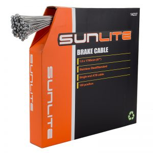 Sunlite Cable Brake 1.6X1700 Stainless Steel Atb Box of 100
