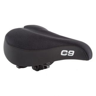 Saddle C9 Comfort Web Spring Lycra Black