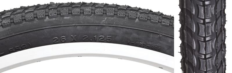 Sunlite Tires 26X2.125 Black On Black Cruiser K927with ${something} Logo Komfort