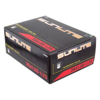 Sunlite Tubes 26X1.00-1.25 Sclaverand Or Presta Valve FFW33mm