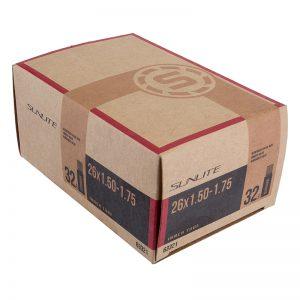 Sunlite Tubes 26X1.50-1.75 Sclaverand Or Presta Valve FFW38mm