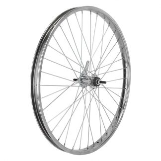 Kt Rear 26X2.125 559X28 Steel Chrome Plated 36 Coaster Brake 110mm 12gUCP with ${something} Kit