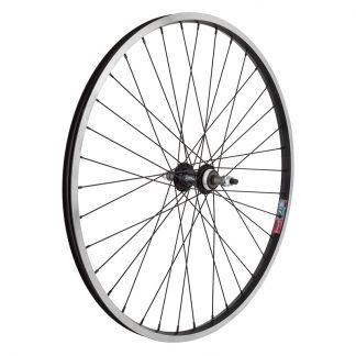 Wheel Master Rear 26X1.5 559X19 Alloy Black Machined Side Wall 36 Alloy Freewheel 5/6/7Sp Bolt-On Black 135mm 14gBK