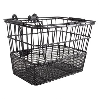 Sunlite Basket Front Wire/Mesh Lift-Off Standard Black with ${something}
