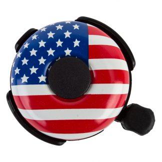 Sunlite Bell 53mm Alloy Ringer Usa Flag