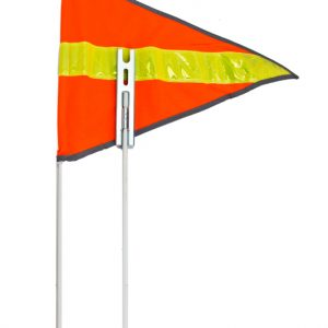 Sunlite Safety Flags 2Pc 72in Reflective