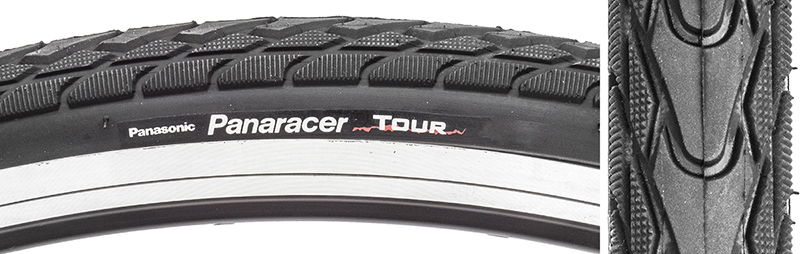 Panaracer Tires Tour 700X32 Wire Black On Black