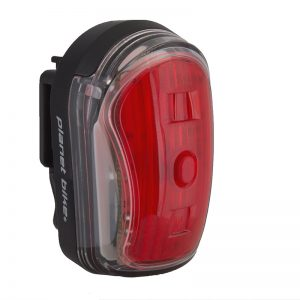 Planet Bike Light Rear Superflash Micro Usb Black