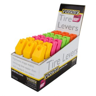 Pedros Tool Tire Levers 4-Colors Box of 24