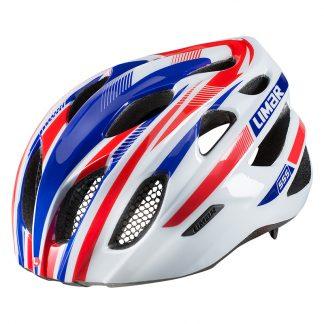 Helmet Lime 555 Road M52-57 Wh/Rd/Bu