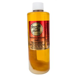 Lube Rnr Gold 16oz 6/Bk