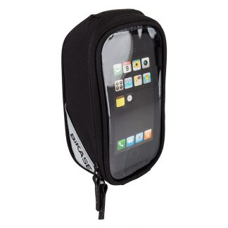 Bikase Bag Phone Beetle Top Tube Phone Black
