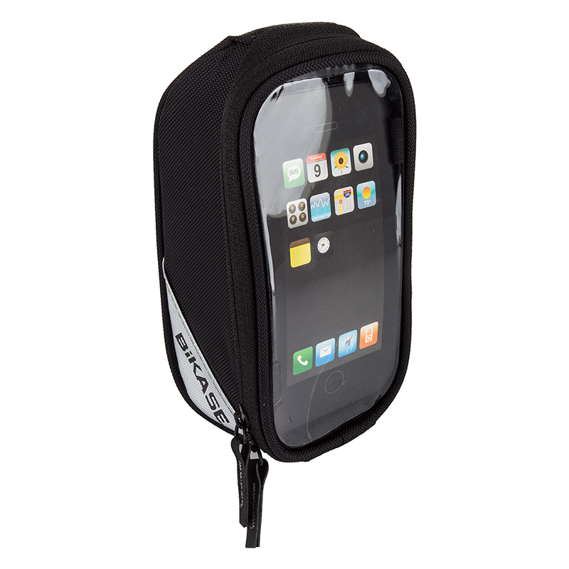 Bikase Bag Phone Beetle Top Tube Phone Black