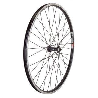 Wheel Master Front 26X1.5 559X19 Mach1 Nitro Black Machined Side Wall 36 Mt5000 Quick Release Black Dti2.0Bk