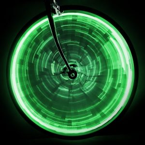 Sunlite Light Wheel Glow F/One-Wheel Green