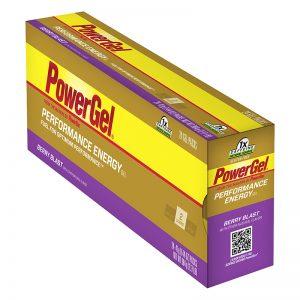 Food Pwb Gel Berry Blastw/Caffeine Box of 24