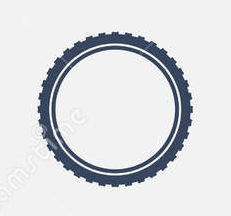icon of bicycle tire
