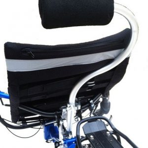 Comfortable, plush cushion to cradle your head while you ride your recumbent trike